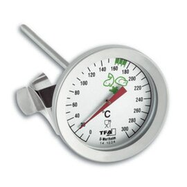 Fett-Thermometer analog  L 162 mm Produktbild
