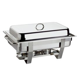 Chafing Dish GN 1/1 CHEF abnehmbarer Deckel 9 ltr  L 610 mm  H 300 mm Produktbild