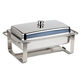 Chafing Dish CATERER PRO abnehmbarer Deckel  L 640 mm  H 340 mm Produktbild